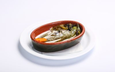 Salata de ardei iuti copti